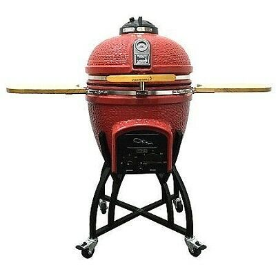 Kamado Vision Charcoal Grill BBQ - FREE Shipping FREE Grilling Kit FREE Charcoal