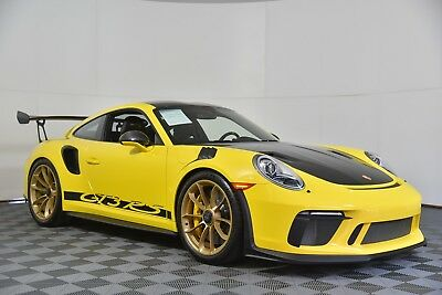 2019 Porsche 911  2019 PORSCHE 911 GT3 RS WEISSACH, COLLECTORS!!, 96 MILES!!!