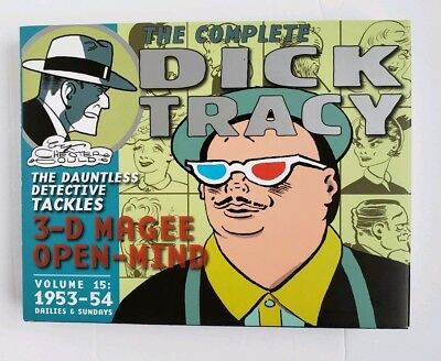 New ~ Complete Dick Tracy Vol.15 1953-54 Dailies & Sundays by Chester Gould ~ HC
