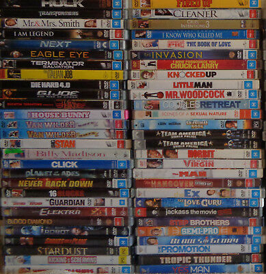 Bulk Lot Ex Rental DVDs Choose Your Title From Menu Region 4 All $3.25 Fast&Free