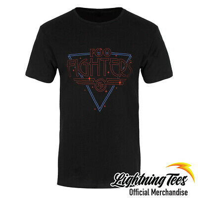 Official Foo Fighters Disco Outline Rock T-Shirt