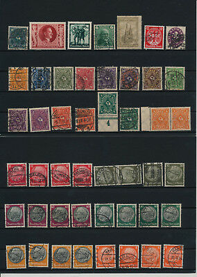 Germany, Deutsches Reich, Nazi, liquidation collection, stamps, Lot,used (AW 25)