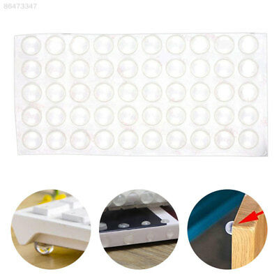 3ADC 50Pcs Self Adhesive Bumpers Door Buffer Crash Pad For Cupboard Drawer