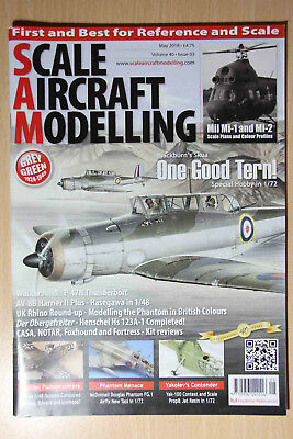 Scale Aircraft Modelling May 2018 Subs issue Blackburn Skua Mil MI-1 Phantom