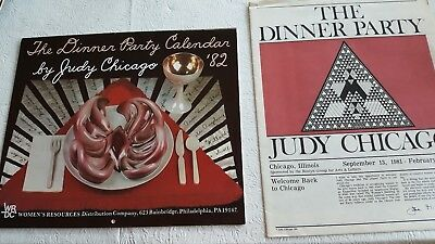 THE DINNER PARTY CALENDAR '82 and publication,By Judy Chicago
