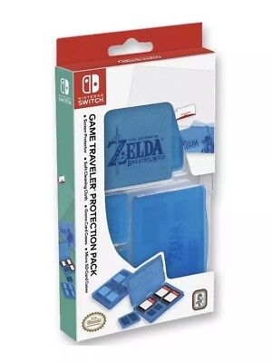 Nintendo Switch Game Traveler Protection Pack Legend Of Zelda Breath Of The Wild