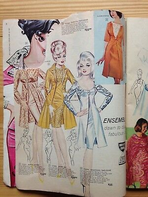 Frederick's of Hollywood 1967 Catalog, iconic illustrations Authentic Vintage