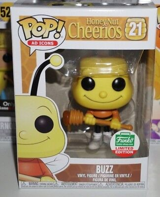 Funko Pop Buzz #21 Cheerios Ad Icons Exclusive Brand New