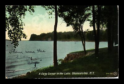 Dr Jim Stamps Us Lake View Skaneateles New York View Postcard