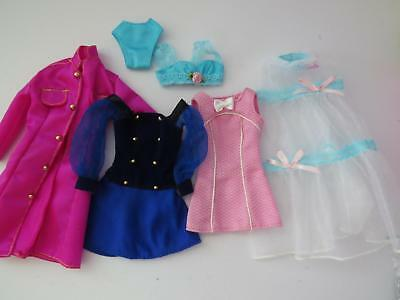 Barbie 5 Piece Lot Of Tagged Fashion Ave Lingerie And Boutique Clothes