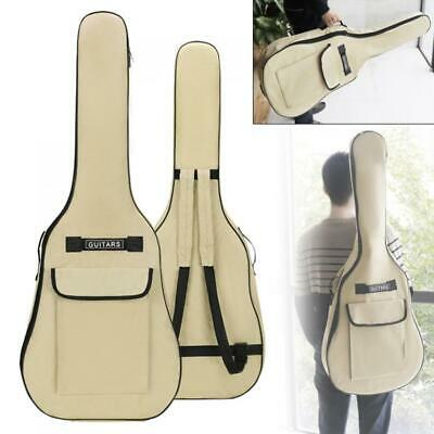 """Heavy Duty Thicken Soft Padded 40""""/41 Electric Acoustic Guitar Case Gig Bag 600D"""