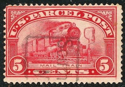 Dr Jim Stamps Us Scott Q5 5C Parcel Post Used No Reserve Free Shipping