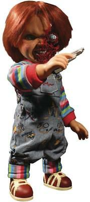 Child's Play 3 Talking Pizza Face Chucky 15 Inch Mega Figure