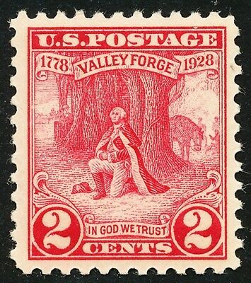 Dr Jim Stamps Us Scott 645 2C Valley Forge Unused Og Nh No Reserve Free Shipping
