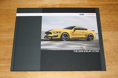 (NEW) 2018 Ford Mustang Shelby GT350 Hardcover Coffee Table Book