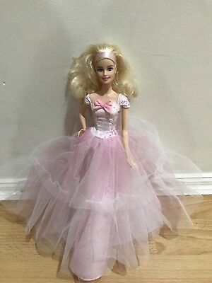 Barbie Birthday Wishes 2016 Doll Blonde Pink Label Collector