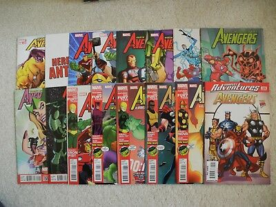 Huge Lot Marvel Kids Comics Avengers Marvel Adventures Collection & More NM #1