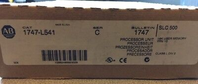Brand New !! Allen Bradley Processor Unit Slc / 500 1747-L541 Series C Frn 10