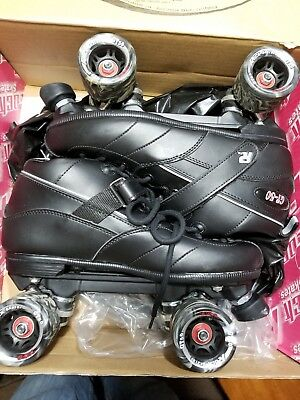 Rock Gt-50 Sure Grip Roller Skates Men's Size 11- Black