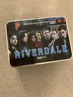 The CW Riverdale Silver Tin Lunch Box