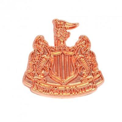 Newcastle United FC Official Copper Plated Metal Badge Brand New