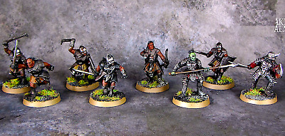 12 MORANNON ORCS=Forces of Sauron Games Workshop: Middle-Earth Strategy Battles