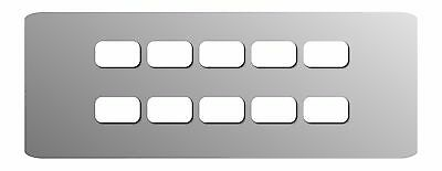 Blank Magnetic Labels / Tags for Audio Mixers / Consoles