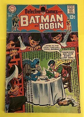 Detective Comics #383 (Jan 1969)- DC Comics - Batman And Robin