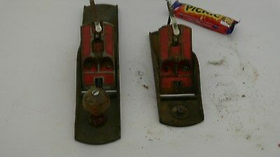 Lot of 2 Vintage Falcon Bench  Plane Made in Australia Parts Only