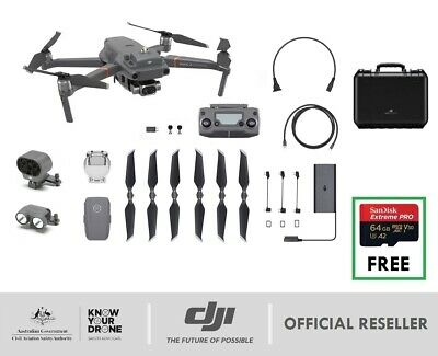 DJI Mavic 2 ENTERPRISE DUAL Combo Universal Edition Thermal Imaging Modular Acc.