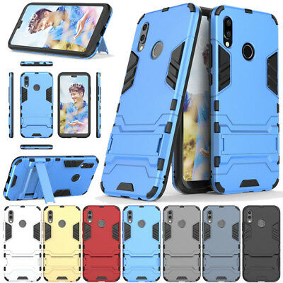 Heavy Duty Armour Case For Huawei P Smart Shockproof Full Body Protective Cover