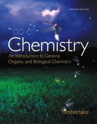 Chemistry: An Introduction to General, Organic, and Biological Chemistry: New