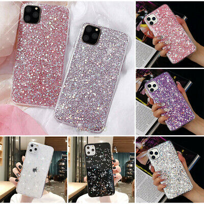 Bling Glitter Shockproof Soft Silicone Case Cover For iPhone XS Max XR 7 8 6 + 5