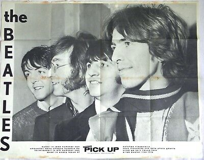 Poster Beatles - Lennon -Bee Gees 1968