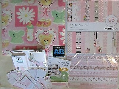 Baby Girl Scrapbooking Pack