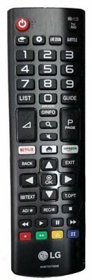 remote control Original TV ULTRA HD 4K LG 43UK6400 NETFLIX - AMAZON
