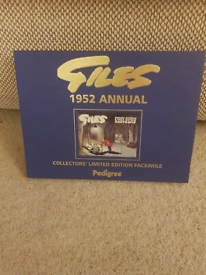 giles cartoon annual 1952 collectors limited edition. Excellent condition.
