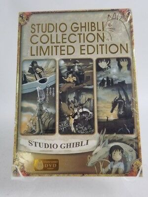 Studio Ghibli Collection Limited Edition Region All 6 DVDs