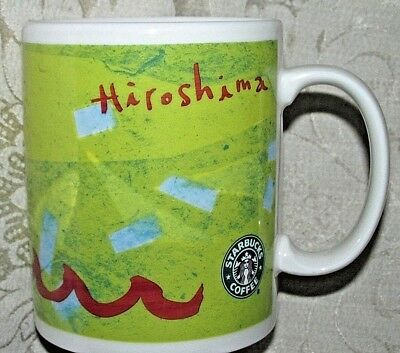 STARBUCKS JAPAN Hiroshima City Limited Design Coffee Mug Cup 400ml 13.5oz 2007