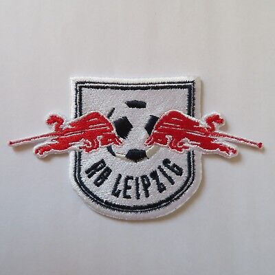 Aufnäher Patch Fußball Football club Red Bull RB Leipzig Logo Bügelbild iron on