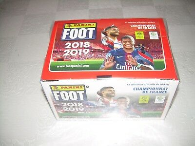 lot 400 images panini foot championnat 2018/2019 sans double