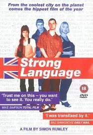 Strong Language DVD 2000 Region 2   BRAND NEW AND SEALED