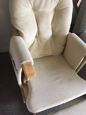 Serenity Natural Nursing Rocking Maternity Chair