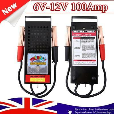 Car Digital Battery Tester Load Drop Charging System Checker Analyzer Tool 6-12V