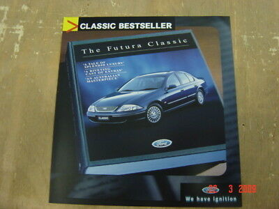 Ford Falcon Futura Classic Brochure 6 2001 Sheet Excellent Condition Fcl 3041