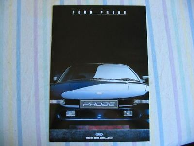 Ford Probe Booklet 5 1994 Brochure Very Good Condition