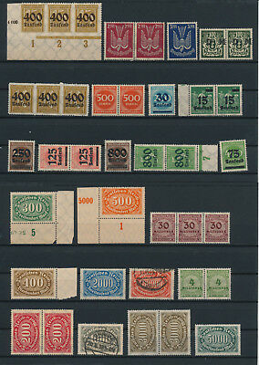 Germany, Deutsches Reich, Nazi, liquidation collection, stamps, Lot,used (AG 11)
