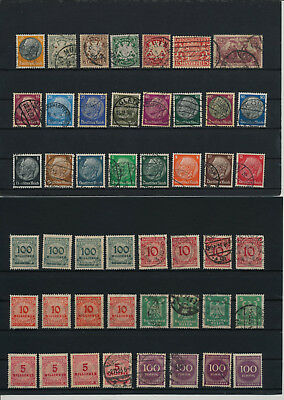 Germany, Deutsches Reich, Nazi, liquidation collection, stamps, Lot,used (AB 20)