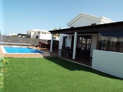 Villa In Lanzarote Playa Blanca Hot Tub,wifi,private Pool Pool Table English Tv