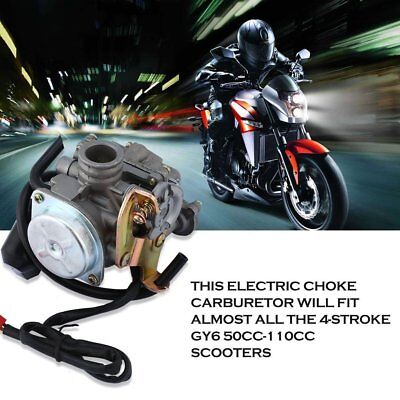 18mm GY6 50cc / 60cc Roller Moped PD18J CVK Vergaser Carb Motor Moped SX